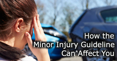 minor injury guideline can affect you