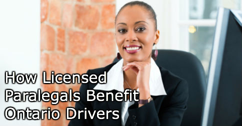How Licensed Paralegals Benefit Ontario Drivers